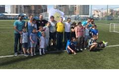 Дети с синдромом Дауна побывали в гостях у Футбольного Клуба