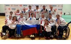 Паралимпийцы завоевали бронзовые медали на турнире по бадминтону (ПОДА)
