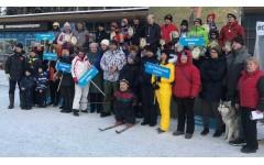 Соревнования СФСИ СПб по горнолыжному спорту в
