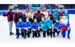 Петербургские фигуристы стали медалистами Всероссийской Спартакиады Специальной Олимпиады в Казани!